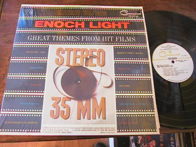ENOCH LIGHT - HIT MOVIE THEMES - COMMAND RECORDS - R 17