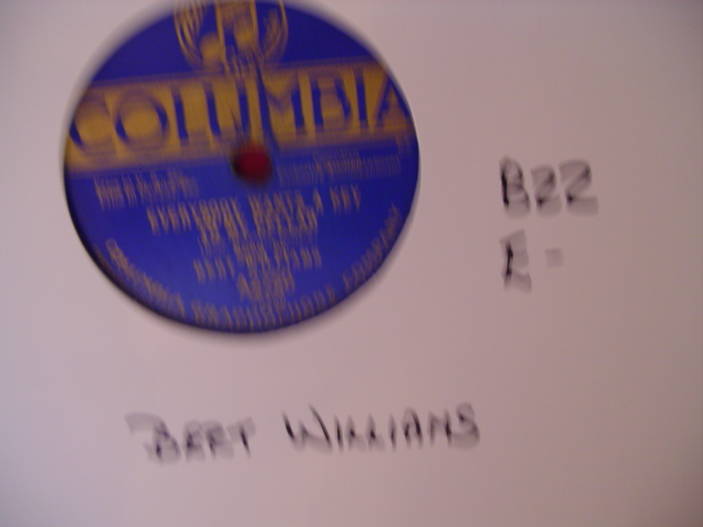 BERT WILLIAMS - COLUMBIA A 2750 - 822