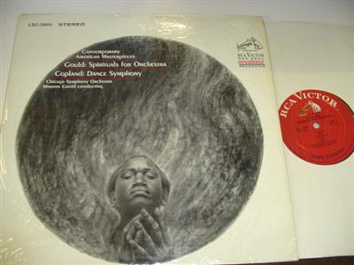 GOULD & COPLAND - AMERICAN MASTERPIECES - GOULD { RCA 44