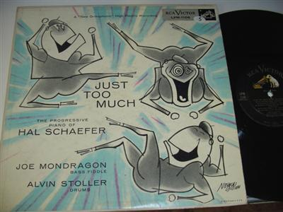 HAL SCHAEFER - JUST TOO MUCH { RCA 49