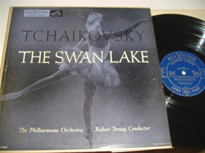 TCHAIKOVSKY - SWAN LAKE - ROBERT IRVING { RCA 57