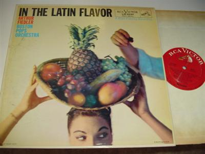 ARTHUR FIEDLER - IN THE LATIN FLAVOR { RCA 58