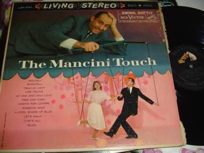 HENRY MANCINI - MANCICI TOUCH - RCA { 244