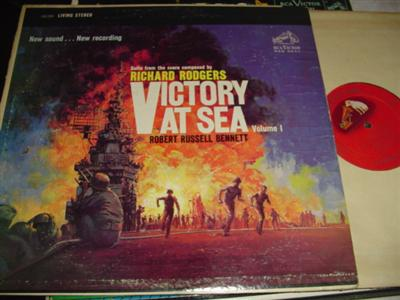 VICTORY AT SEA VOL 1 - RUSSELL BENNETT { RCA 213