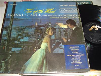 FRANKIE CARLE - TOP OF THE MARK - RCA { 204