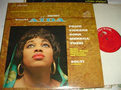 VERDI - AIDA - PRICE SOLTI - HIGHLIGHTS - { RCA 207