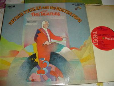 ARTHUR FIEDLER - BOSTON POPS - THE BEATLES { RCA 259