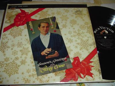 PERRY COMO - SEASONS GREETINGS - RCA 283