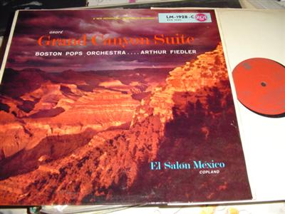 GROFE - GRAND CANYON SUITE - FIEDLER{ UK RCA 291