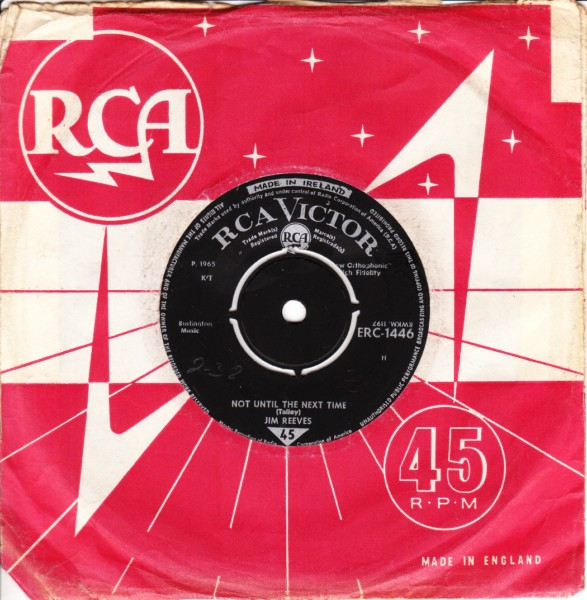 Jim Reeves - Born to be lucky - RCA Irish Pressing 1965 3510