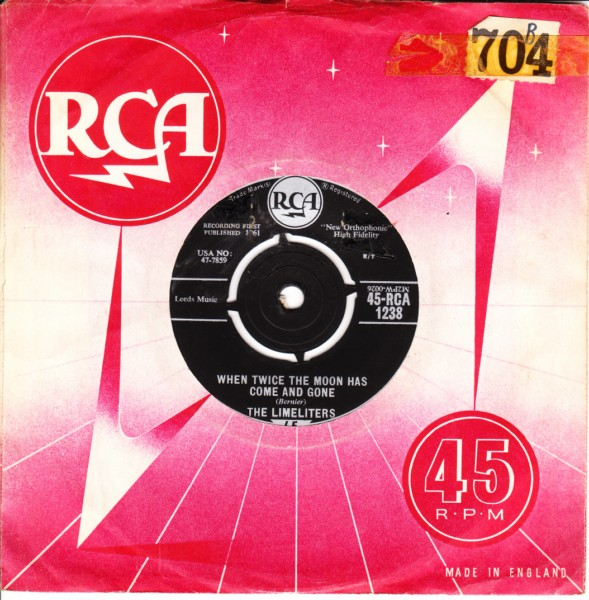 The Limeliters - A Dollar Down - RCA UK 3514
