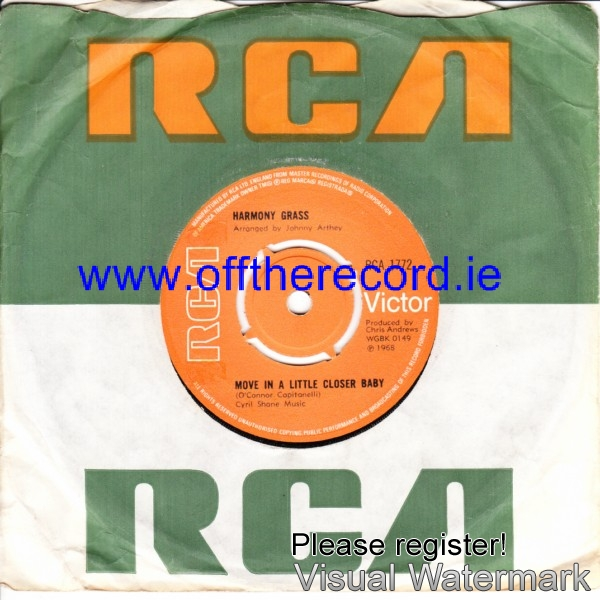 Harmony Grass - Move a little closer Baby - RCA UK 4238