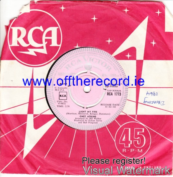 Chet Atkins - Mrs. Robinson - RCA UK DEMO 4216