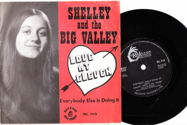 RL 0714 - Shelly & The Big Valley - Love at Eleven - Release P/S