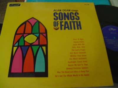 ALAN DEAN - SONGS OF FAITH - ALLEGRO { 1100