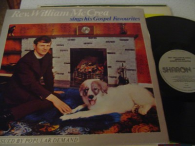 REV WILLIAM McCREA - GOSPEL FAVOURITES - SHARON{ 1124