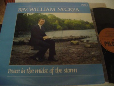 REV WILLIAM McCREA - PEACE IN STORM - PILGRIM { 10123