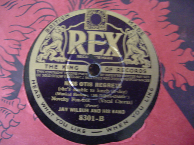 JAY WILBUR - OLE FAITHFUL - REX 8301 - UK PRESSING