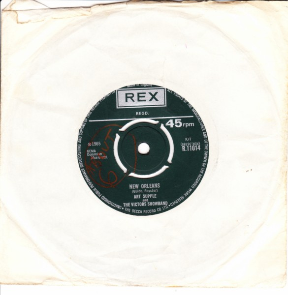 REX R.11014 - Art Supple & The Victors - La Yanka 1965