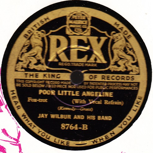 Jay Wilbur - Saddle up your Blues to a Wild Mustang - Rex 8764