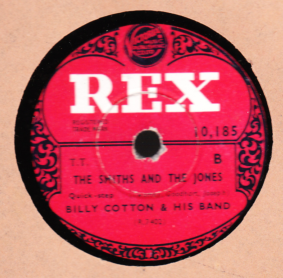Billy Cotton - You'd be nice to come home to - Rex 10185 UK UK