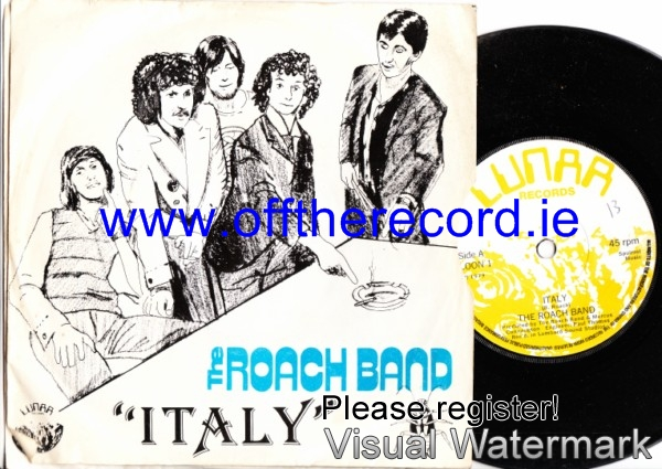 The Roach Band - Italy - Lunar Loon 1 - 1979 Picture Sleeve