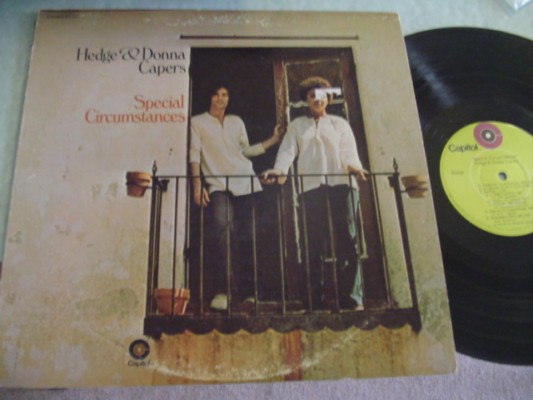 HEDGE & DONNA - SPECIAL CIRCUMSTANCES - CAPITOL 1970