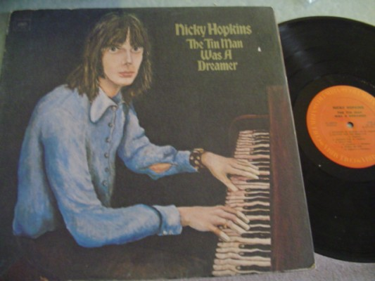 NICKY HOPKINS - TIN MAN WAS A DREAMER - COLUMBIA