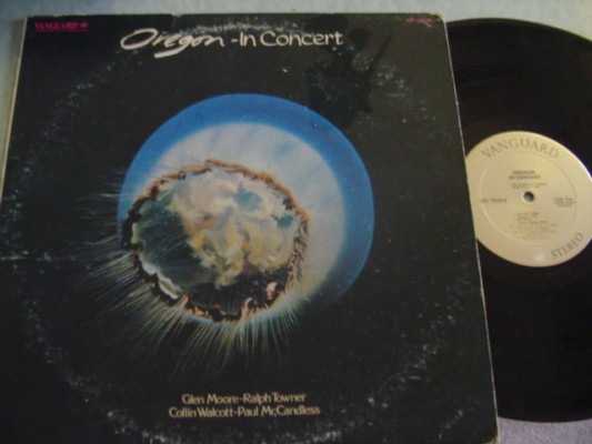 OREGON - IN CONCERT - VANGUARD 1975