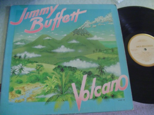 JIMMY BUFFETT - VOLCANO - MCA 1979