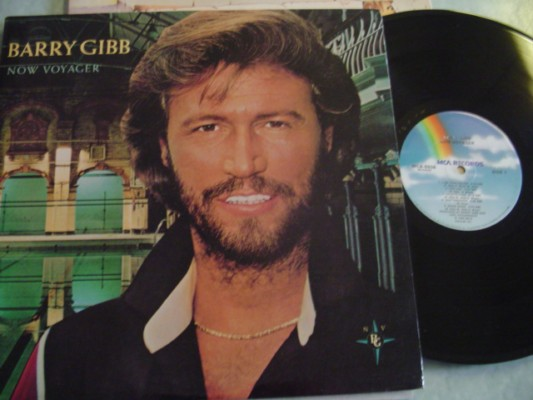 BARRY GIBB - NOW VOYAGER - MCA 1985