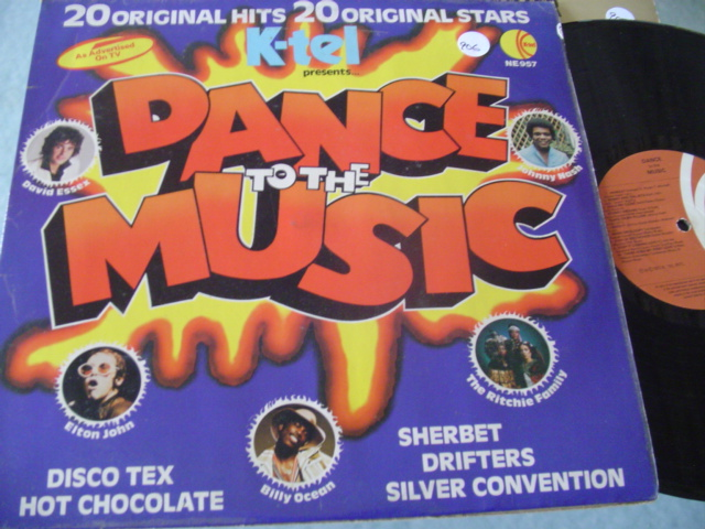 VARIOUS ARTISTS - DANCE TO THE MUSIC - K TEL