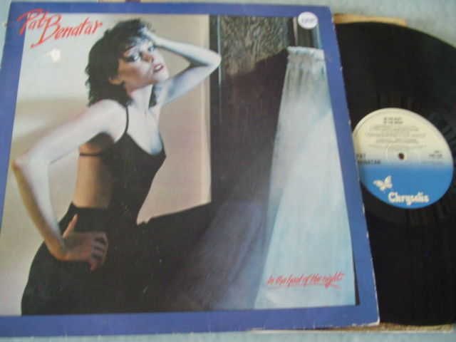 PAT BENATAR - HEART OF NIGHT - CHRYSALIS 1979