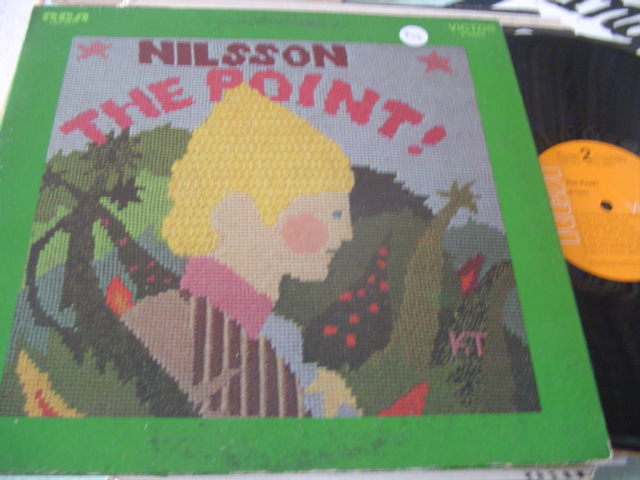 HARRY NILSSON - THE POINT - WITH BOOKLET - RCA