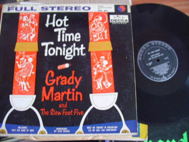 GRADY MARTIN - HOT TIME TONIGHT - DECCA