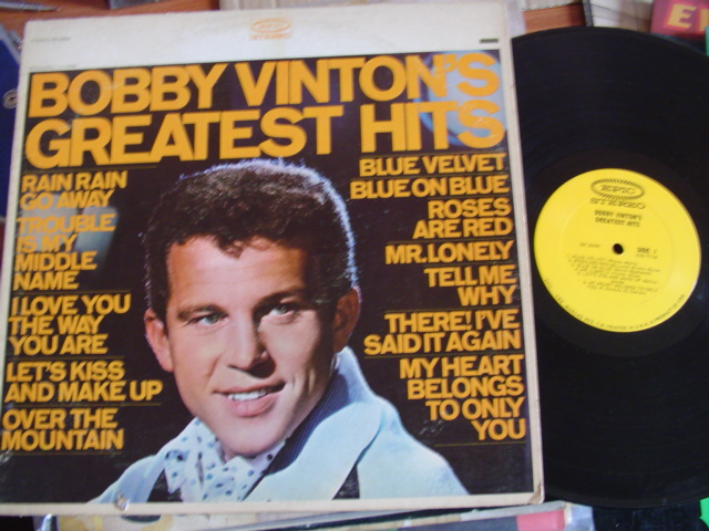 BOBBY VINTON - GREATEST HITS - EPIC STEREO