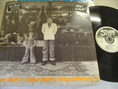 IAN DURY - NEW BOOTS & PANTIES - STIFF { AF 596