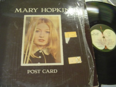 MARY HOPKIN - POST CARD - APPLE { AF 608