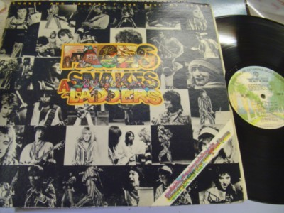 THE FACES - SNAKES LADDERS - WARNER { AF 610