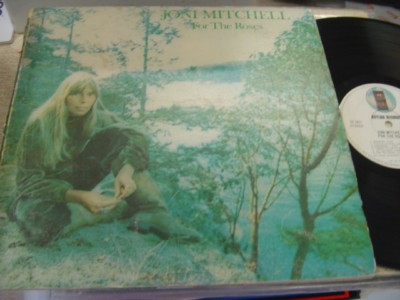 JONI MITCHELL - FOR THE ROSES - ASYLUM { AF 616