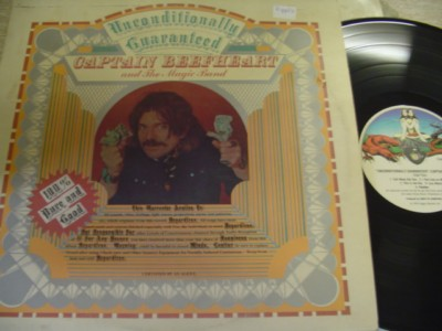 CAPTAIN BEEFHEART - UNCONDITIONALLY - VIRGIN { AF 593