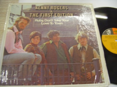 KENNY RODGERS & FIRST EDITION - RUBY - REPRISE { AF 655