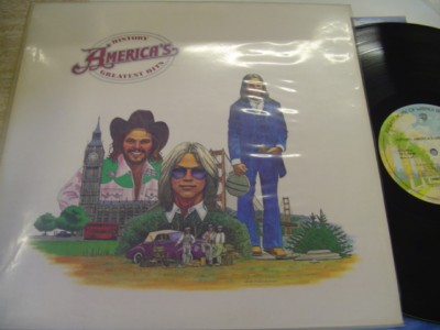 AMERICA - GREATEST HITS - WARNER UK { AF 662