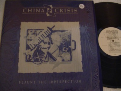 CHINA CHRISIS - FLAUNT IMPERFECTION - VIRGIN { 831
