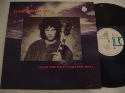 GARY MOORE - OVER THE HILLS - 10 RECORDS { 848