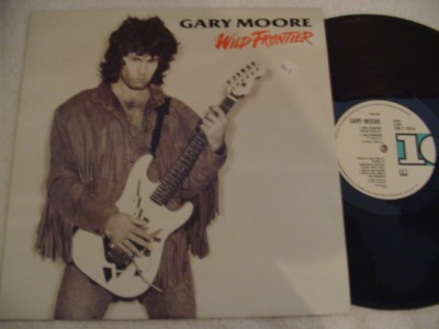 GARY MOORE - WILD FRONTIER - 10 RECORDS { 849