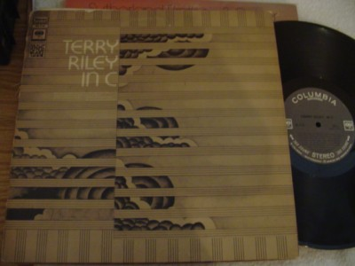 TERRY RILEY - IN C - COLUMBIA { AF 856