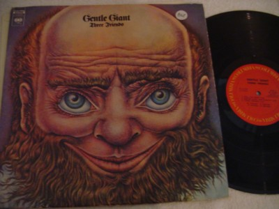 GENTLE GIANT - THREE FRIENDS - COLUMBIA { 867