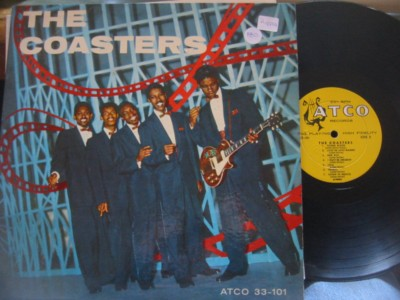 THE COASTERS - SELF TITLE 1st LP - ATCO { AF 913