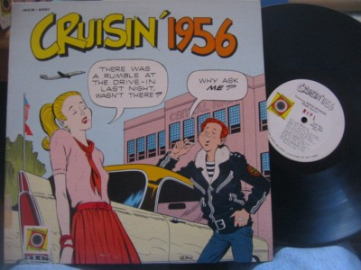 VARIOUS ARTISTS - CRUISIN' 1956 {AF 923